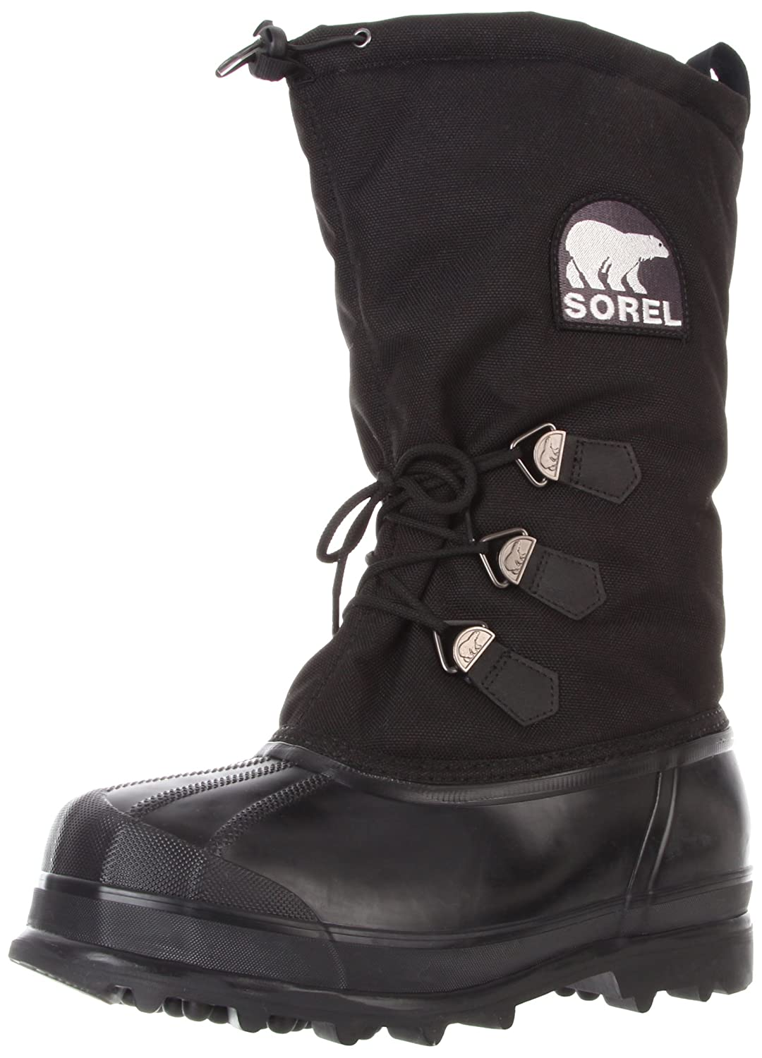 Sorel Men&#8217;s Glacier NM1042 Boot,Black,9 M