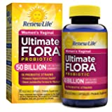 Renew Life Women's Probiotic - Ultimate Flora  Probiotic Women's Care, Shelf Stable Probiotic Supplement - 50 Billion - 30 Vegetable Capsules (Packaging May Vary) (Tamaño: 30 Count)