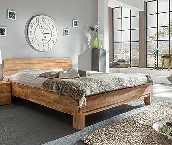 woodlive Rivo massivholzbett roble natural 160x 200