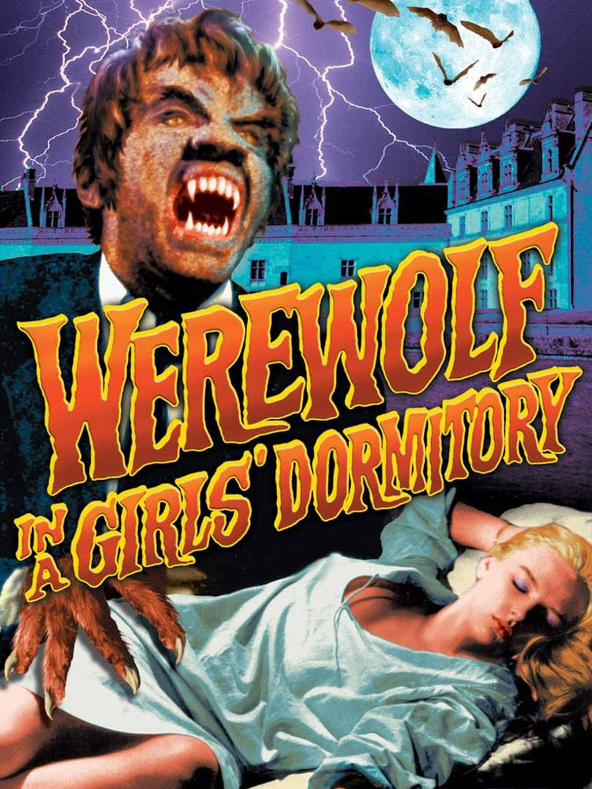 Werewolf in a Girls' Dormitory on Amazon Prime Video UK