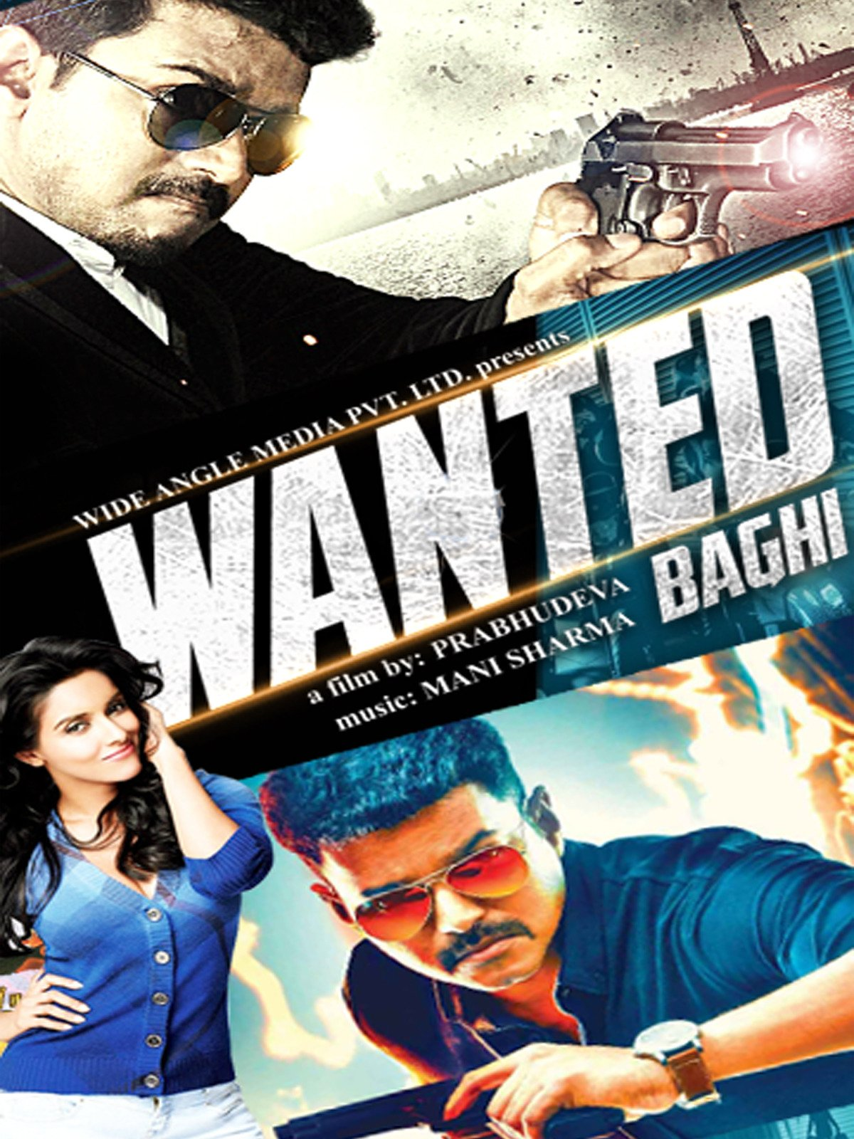 Wanted Baghi on Amazon Prime Video UK