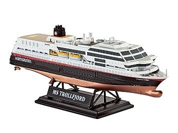 Revell - 05815 - Maquette - Bateau - Ms Trollfjord - Hurtigruten