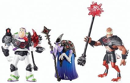 Mattel - Toy Story : Hors du Temps - Battleopolis - Pack 3 Figurines 11 cm