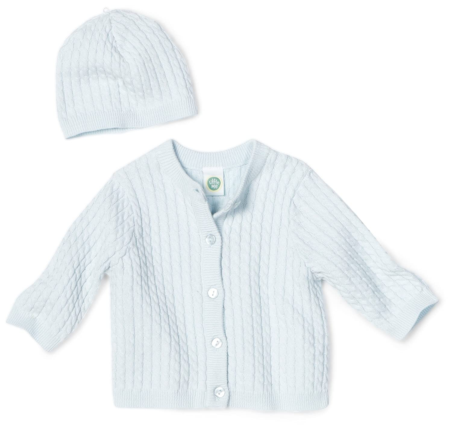 Cable Sweater, Hat and Hanger Set Adorable Cable Sweater