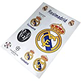RMCF Madrid Football Club Soccer Team Logo Sticker Decal for Car/Glass/Laptop/Wall (Color: White, Tamaño: One Size)