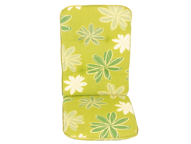 Dajar Stühle und Sessel Auflage Etna Hoch 6 cm, grün