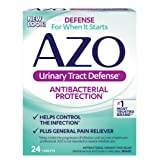 AZO Urinary Tract Defense Antibacterial Protection   Helps Control a UTI Until You Can See a Doctor   #1 Most Trusted Urinary Health Brand   24 Tablets