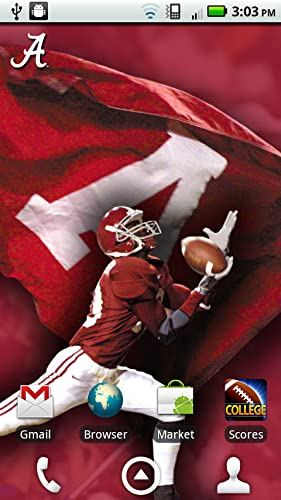 Alabama Crimson Tide Revolving Wallpaper - Amazon Mobile Analytics and ...