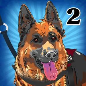 Rescue Dogs K9 II : The recruit police canine unit run to catch dangerous criminals - Free Edition from Martinternet Inc.
