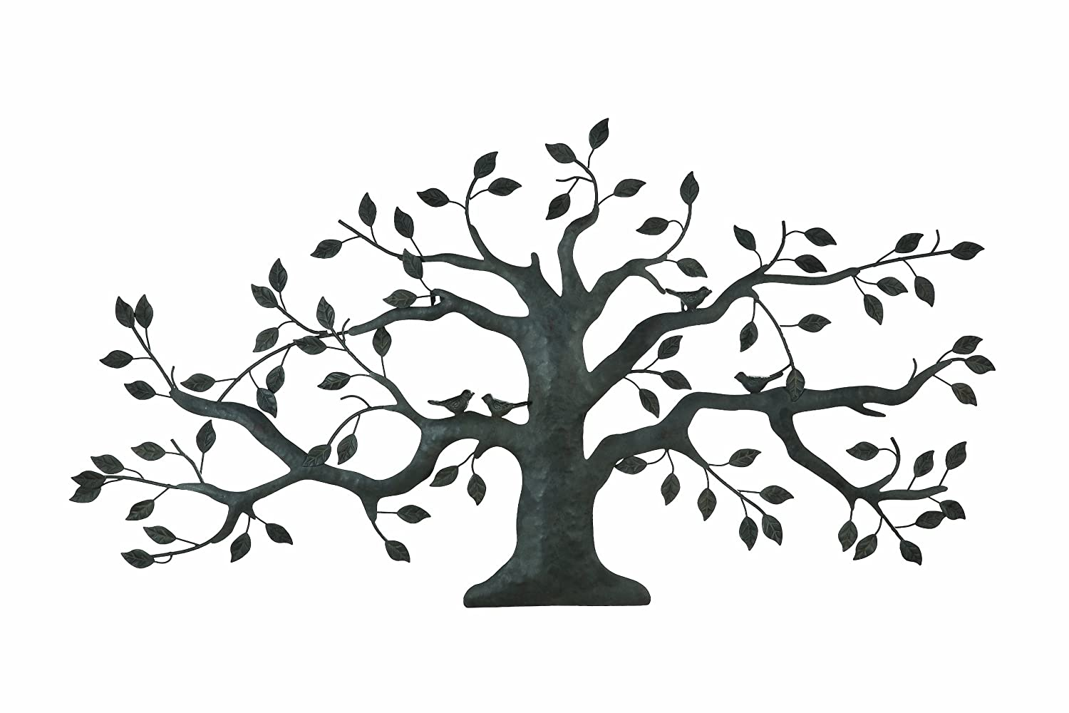 Family Tree Wall Mural Tree Of Life Metal Wall Art Large Decoration With Branch