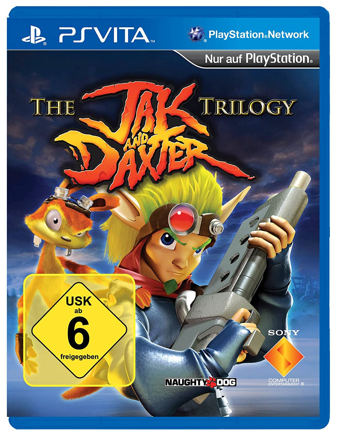 product photo for The Jak and Daxter Trilogy