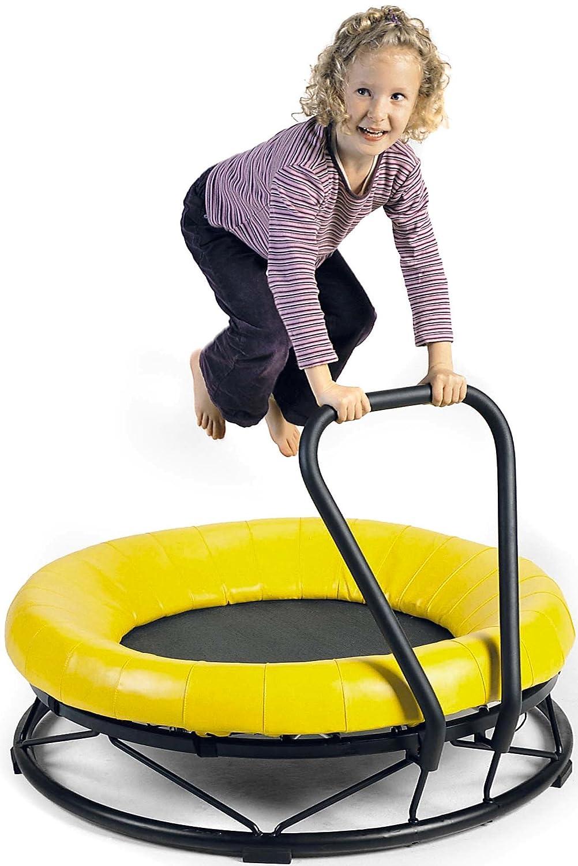 Trampolin 'Mono' mit hohem Schutzkissen – für 1 Kind ab 3 Jahren geeignet (Belastbarkeit: max. 50 kg) von GONGE jetzt kaufen