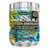 Amino Build Next Gen Energized, Blue Raspberry, 9.96 oz (282 g) - Muscletech by Muscle Tech