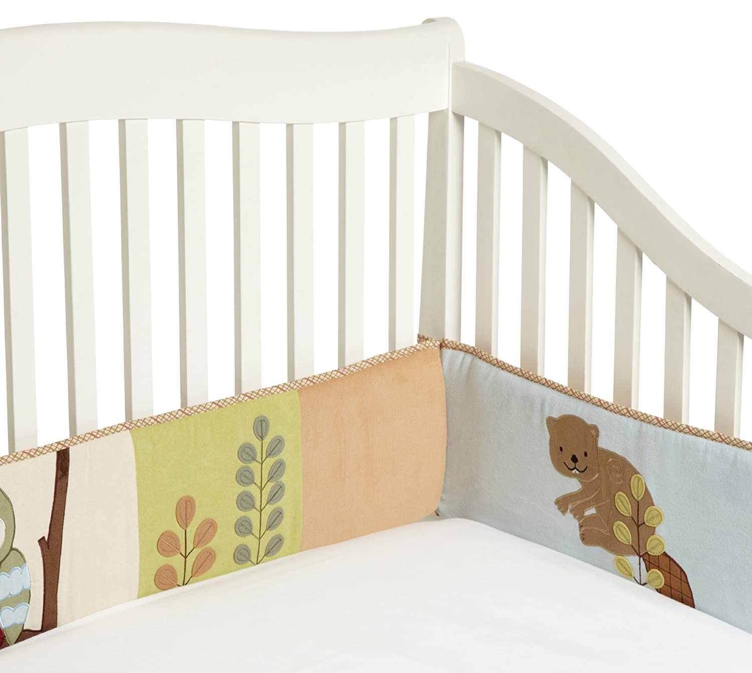 Enchanted Forest Bumper for Crib