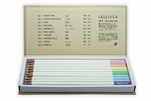 Tombow Irojiten Colored Pencil Dictionary Set, Seascape, 30-Pack (Color: Seascape, Tamaño: Seascape)
