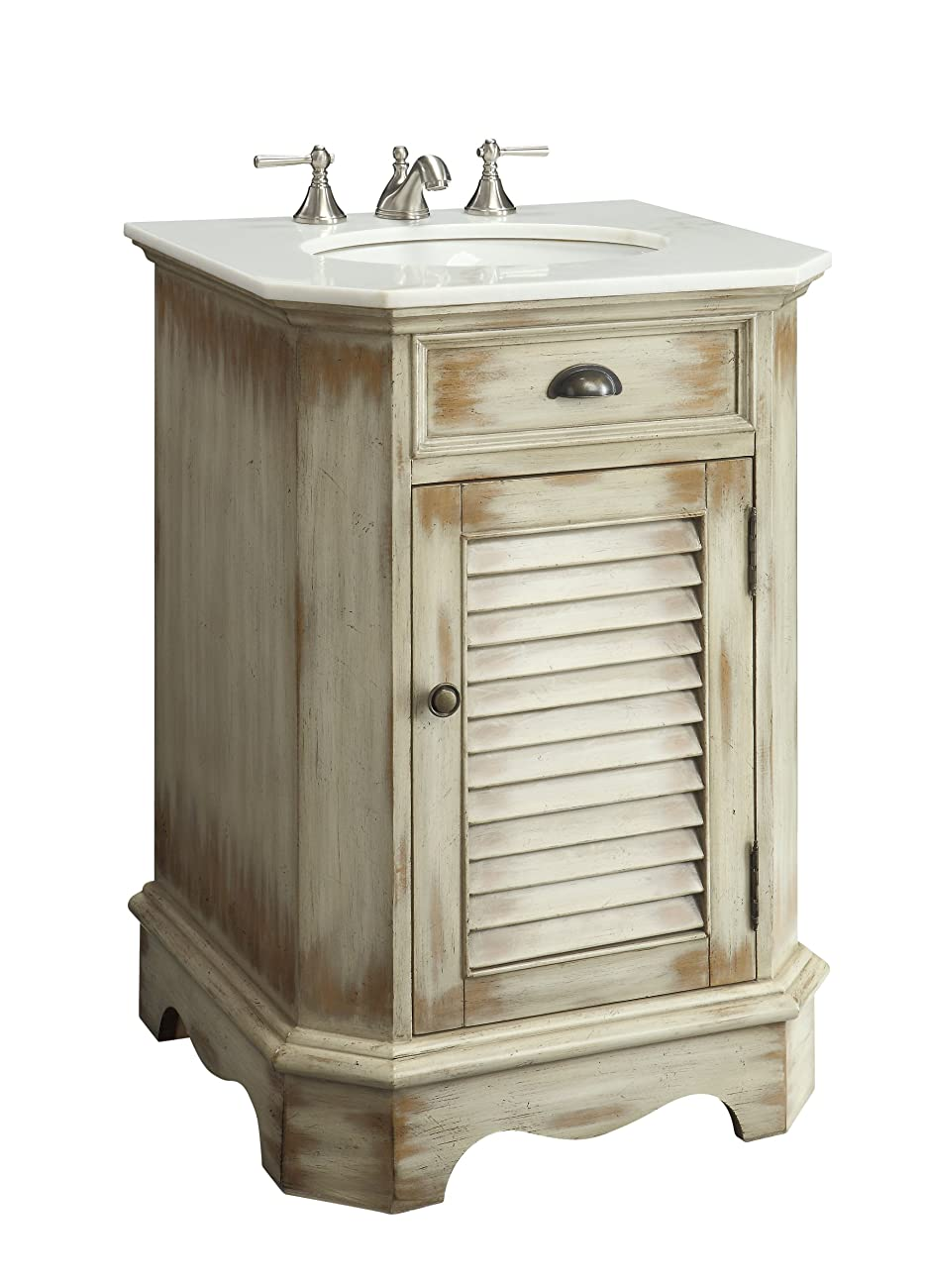 "24"" Cottage look Junior Abbeville Bathroom Sink vanity Model CF47523A 1"