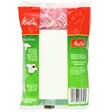 Melitta Coffee Filters for Percolators, White Wrap Around, 40-Count Filters (Pack of 12)