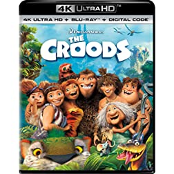 The Croods [4K Ultra HD + Blu-ray]