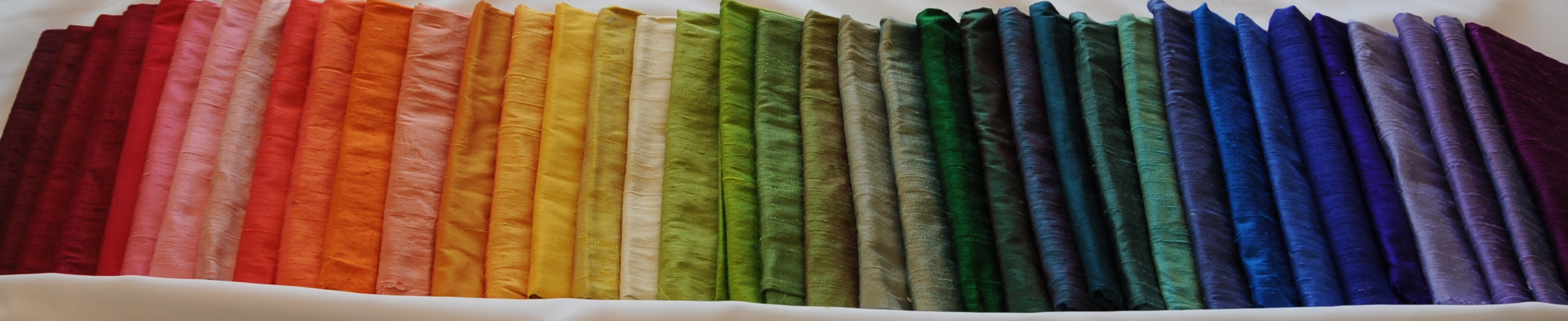 Rainbow of yardage
