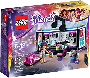 Lego Friends Pop Star Studio Building Kit