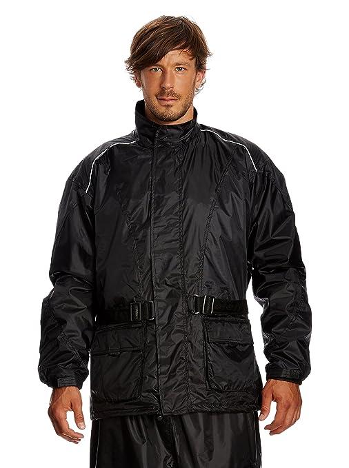 Roleff Racewear 1000XXXL Veste Imperméable, Noir, XXXL
