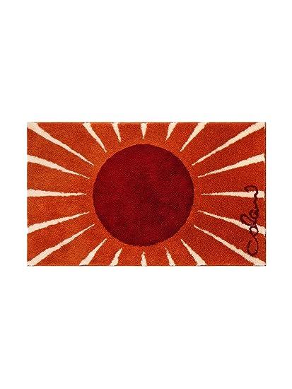 colani tapis salle salle de bain pas cher orange 60x60 cm cuisine cm cuisine maison m126. Black Bedroom Furniture Sets. Home Design Ideas