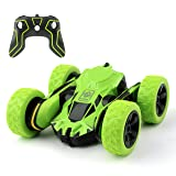 Rodzon Remote Control Stunt RC Car,4WD 2.4GHz Double Sided Rotating Tumbling Ran Ransformation Kid Toys 360 Degree Flips .5MPH Racing