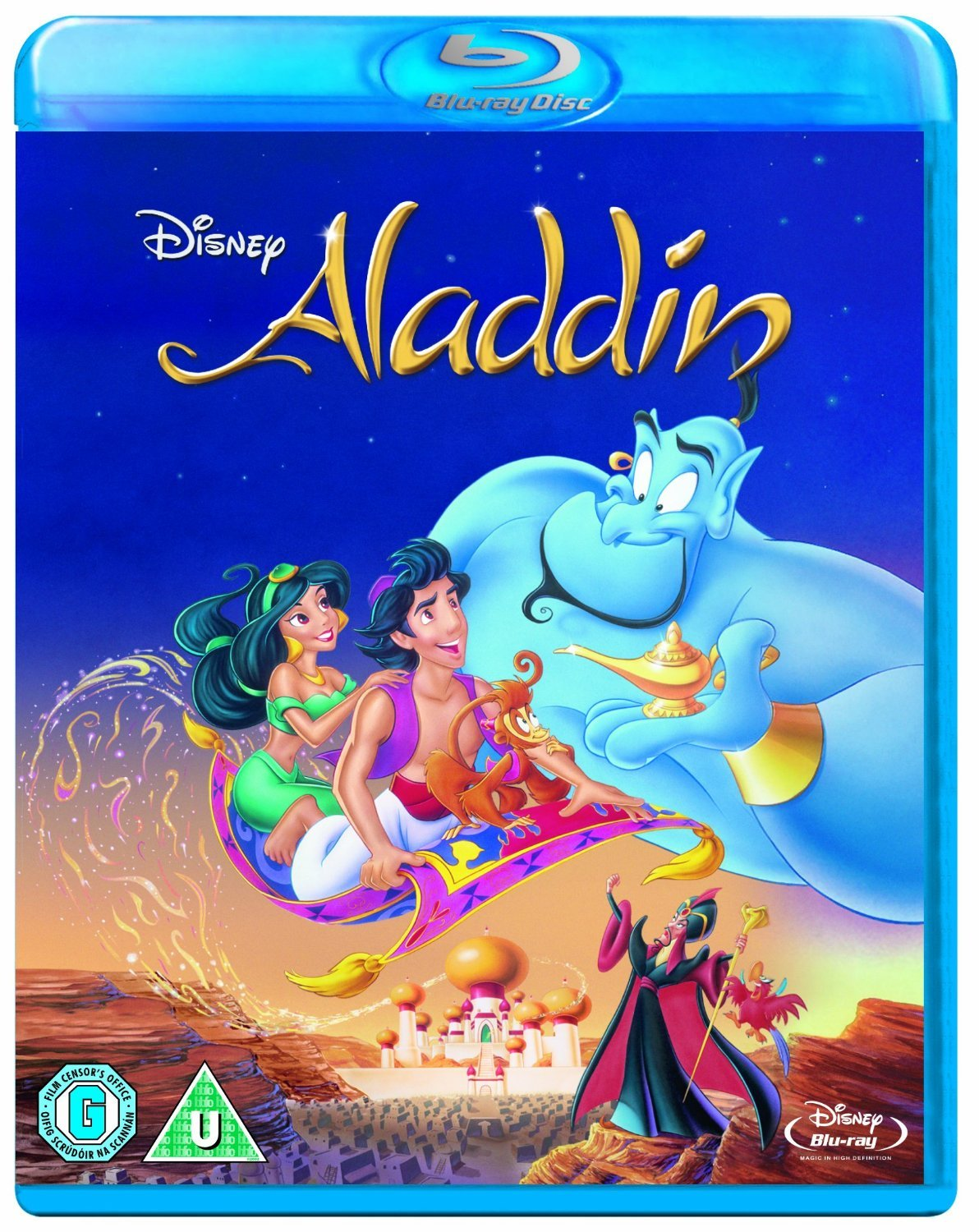 Robin Williams Aladdin Blu-Ray DVD