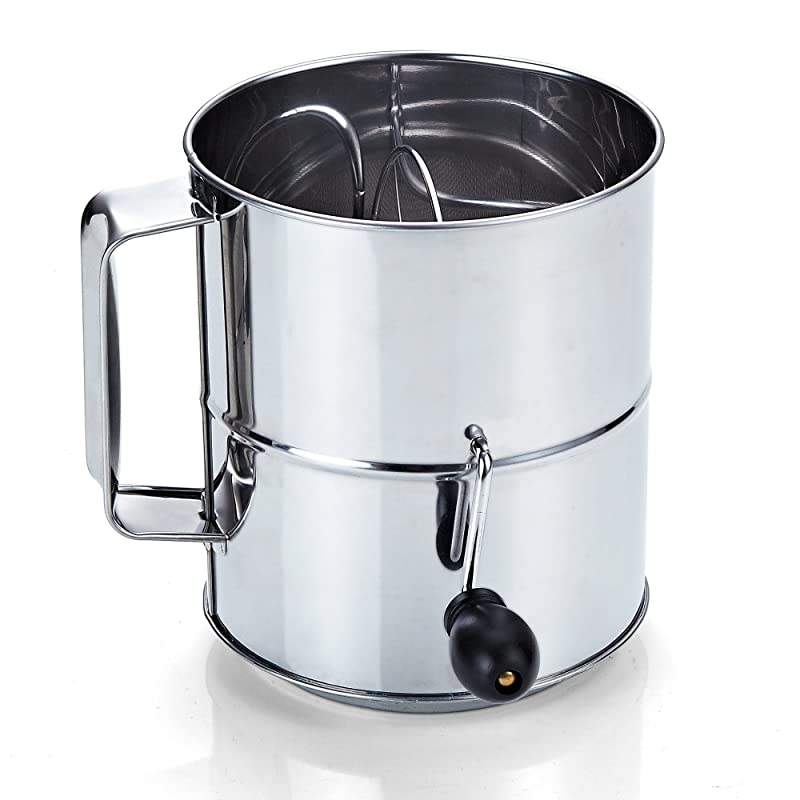 Cook N Home Stainless Steel 8-Cup Flour Sifter via Amazon