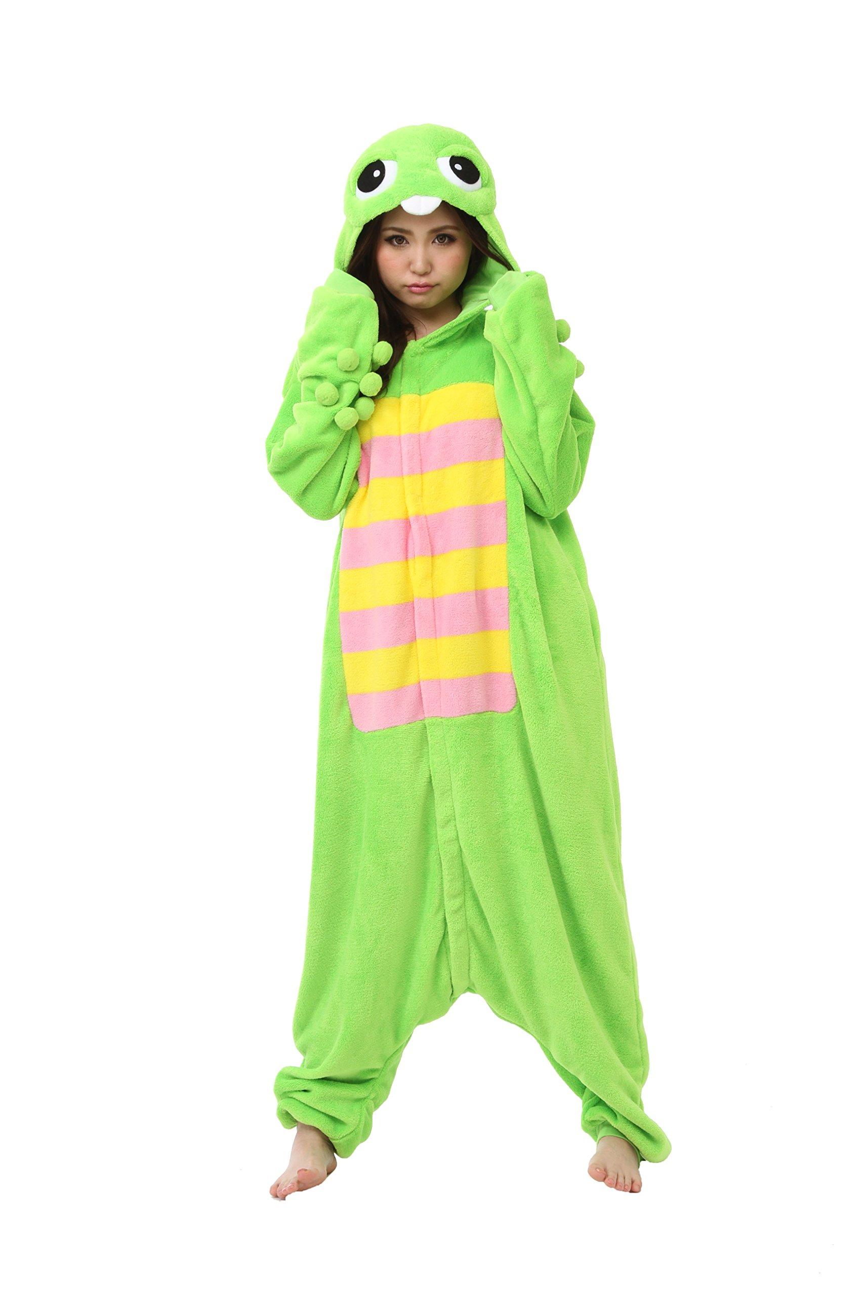 Gachapin Kigurumi - Adults Costume