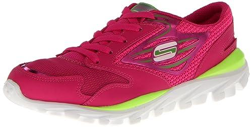 Girls' Elegant Skechers 80651L Go Run Sport Shoe On Sale Colors
