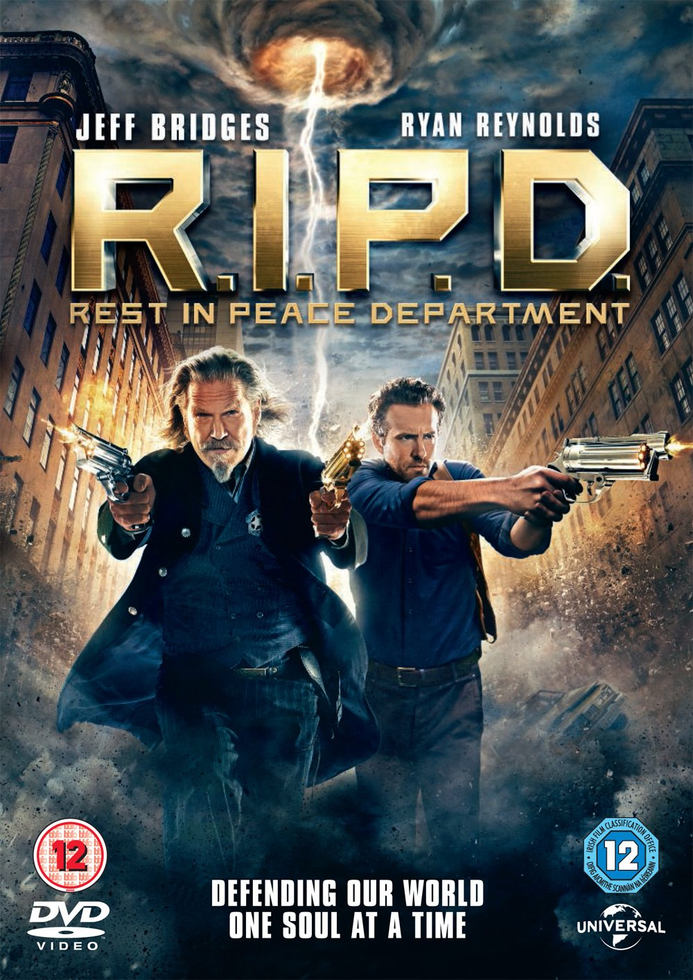 R.I.P.D.: Rest in Peace Department [DVD]: Amazon.co.uk: Ryan ...