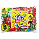 Assorted Candy Party Mix Bulk Bag 3 Lbs Twizzlers Nerds Swedish Fish Sour Patch Skittles Starburst Mike And Ike Gummies and Much More of Your Favorite Treats Individually Wrapped (48 oz) (Tamaño: 1 Pack)