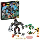LEGO DC Batman: Batman Mech vs. Poison Ivy Mech 76117 Building Kit (375 Pieces) (Color: Multi)