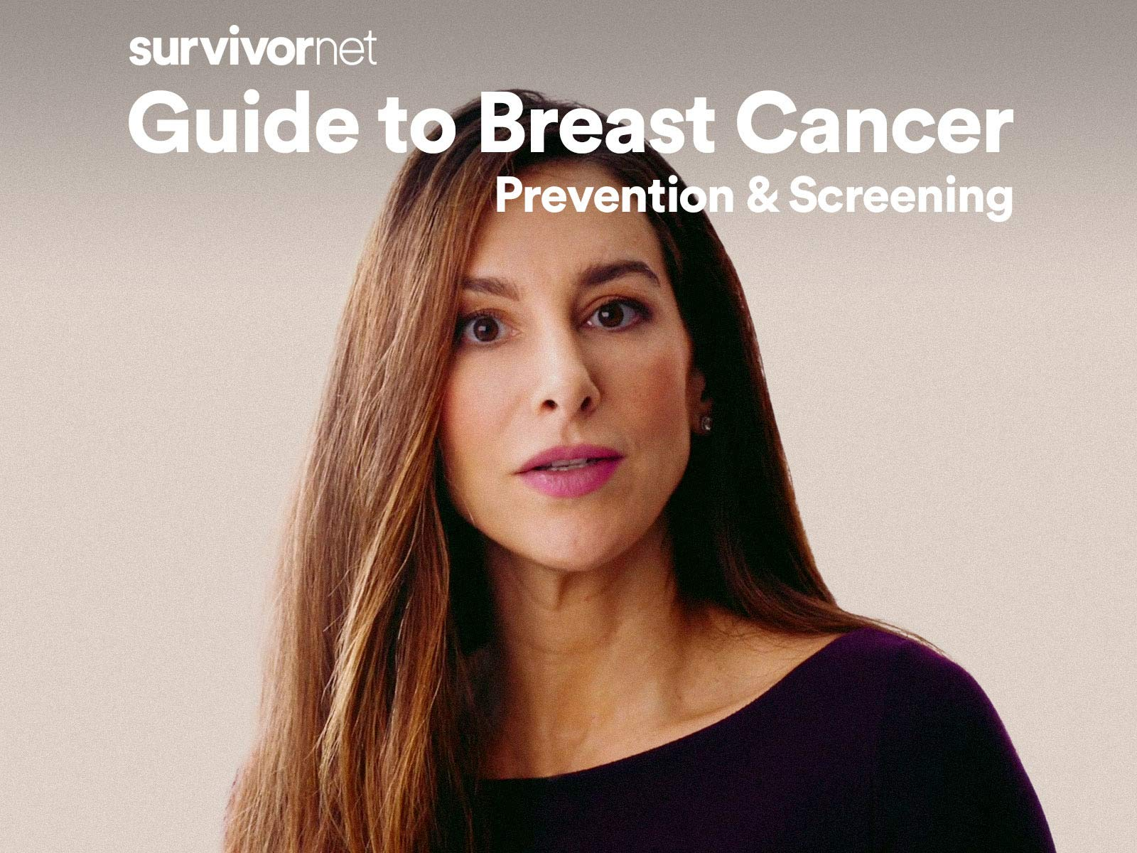 The SurvivorNet Guide: Breast Cancer - Prevention & Screening on Amazon Prime Instant Video UK