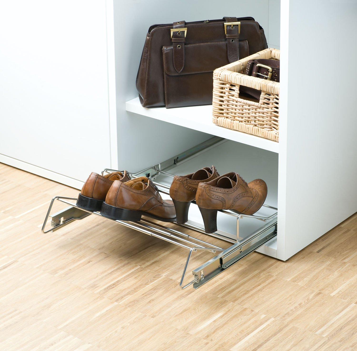 Range chaussures coulissant extensible - Porte chaussure coulissant ...