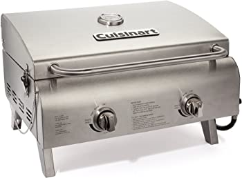 Cuisinart CGG-306 Chef's Style Stainless Tabletop Grill