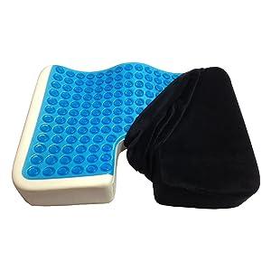 Kieba Gel Memory Foam Seat Cushion width=