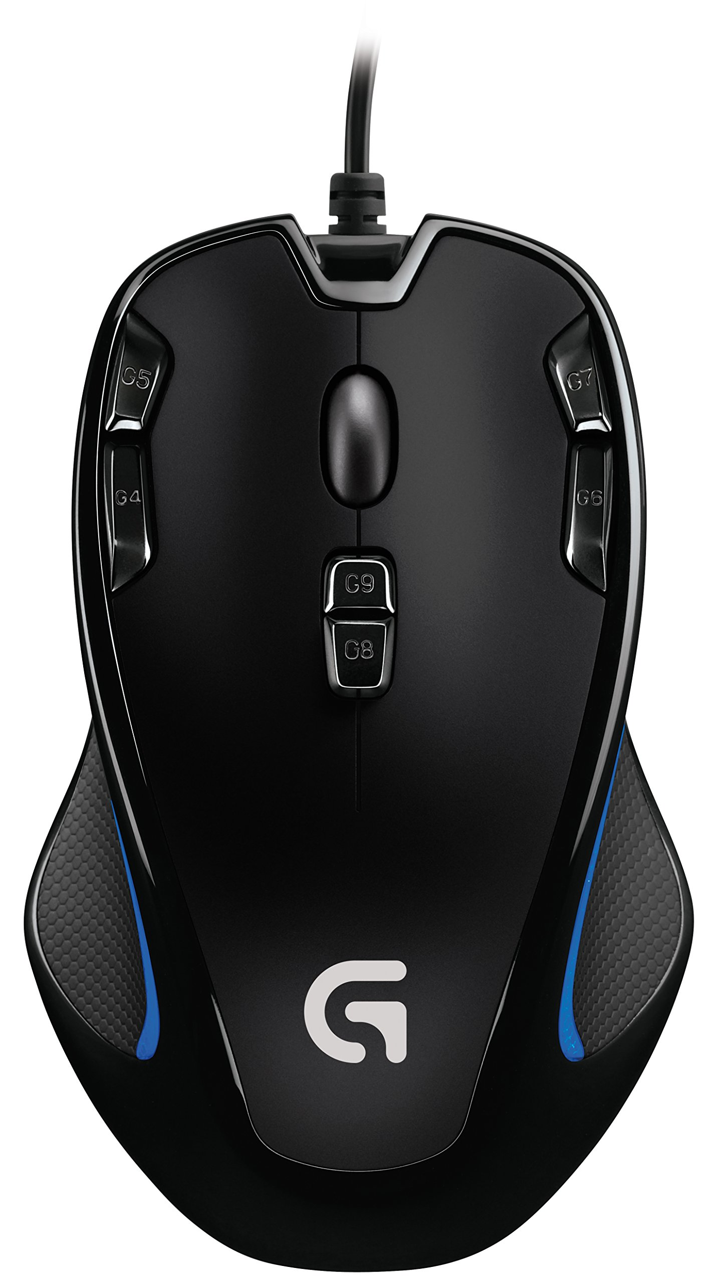 로지텍 G300s 옵티컬 게이밍 마우스 Logitech G300s Optical Ambidextrous Gaming Mouse – 9 Programmable Buttons, Onboard Memory