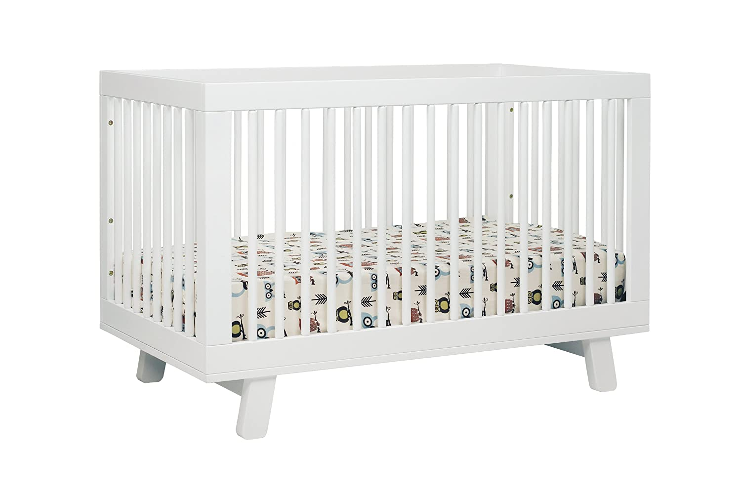 Babyletto Hudson 3 in 1 Convertible Crib with Toddler Rail