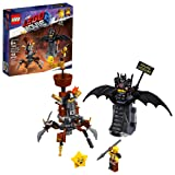 THE LEGO MOVIE 2 Battle-Ready Batman and MetalBeard 70836 Building Kit (168 Piece) (Color: Multi)