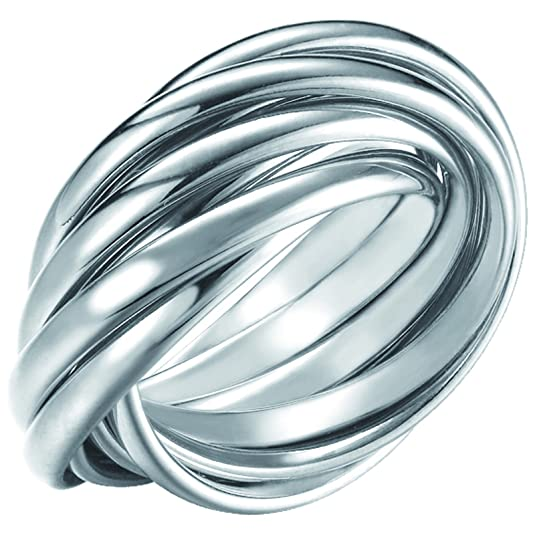 Joop Ring Silver EMBRACE JPRG90682A550 RG 55