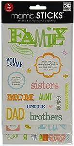 Glitter adesivi valore Pack-famiglia - You & Me   Revisión del cliente y la descripción más