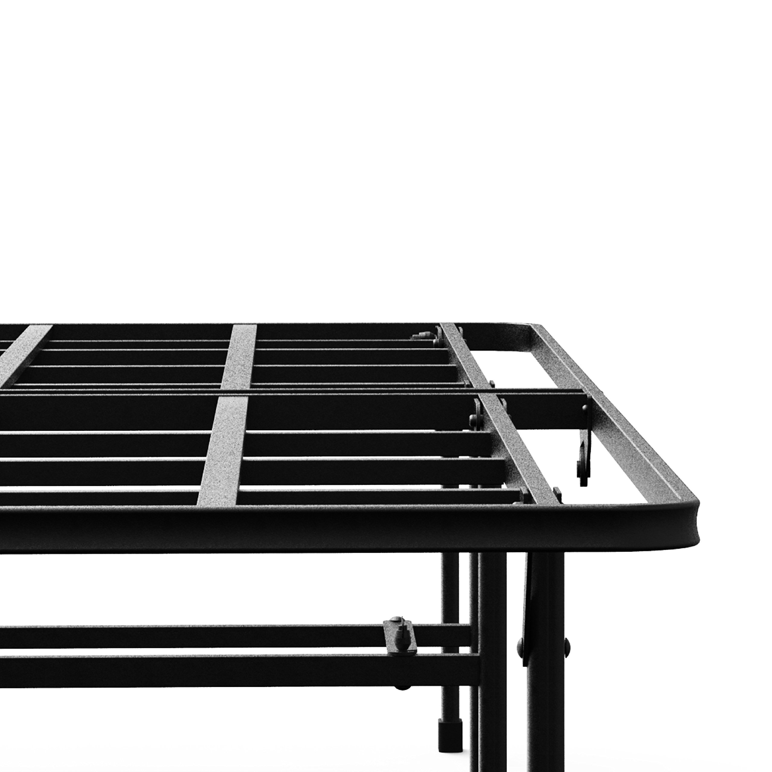 Zinus 14 inch elite smartbase mattress foundation big tall extra strong queen ebay - Extra tall bed frame queen ...