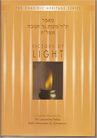 Victory of Light - Mitzvat Ner Chanukah 5738 (Chasidic Heritage Series)