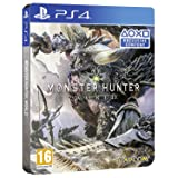 Monster Hunter World Steel Book Edition (PS4) UK IMPORT REGION FREE