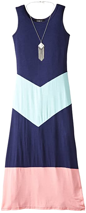 Amy-Byer-Big-Girls-Color-Block-Maxi-Dress-with-Necklace