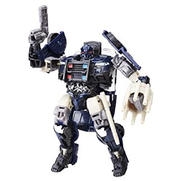 Transformers Last Knight Deluxe Class Barricade Figurine