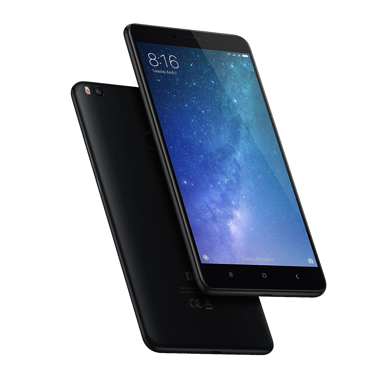 Latest Mi Max 2 (Black, 64 GB)
