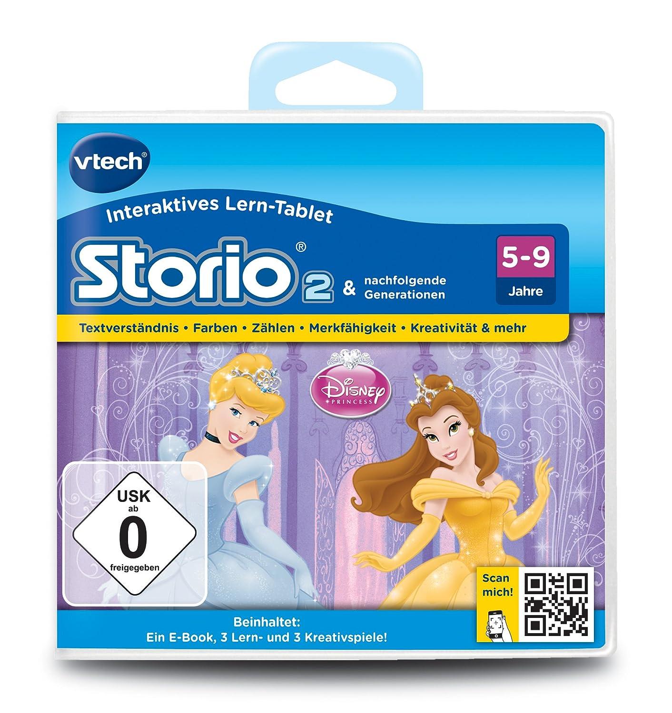 VTech 80-230204 – Lernspiel Disney Prinzessinnen (Storio 2, Storio 3S) günstig als Geschenk kaufen